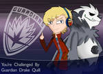 GOTG : Pokemon Trainer Drake Quill by Ammoniteling