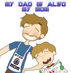GOTG : Jack Quill , My Dad Is Also My Mom by TheReedRaptor