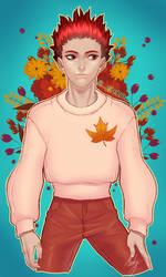 Tendou Satori - Autumn by Mint-Tuna