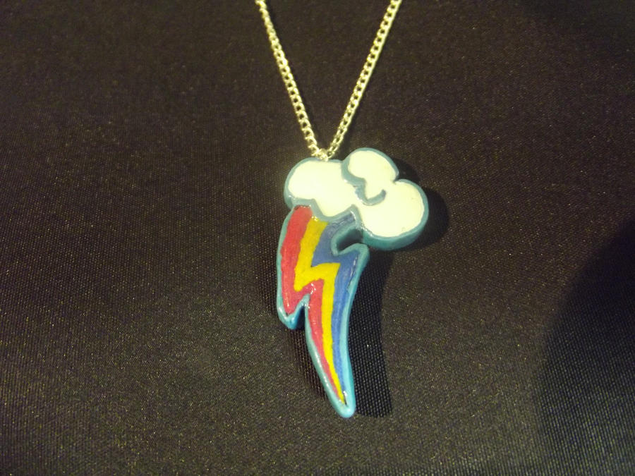 Rainbow Dash Pendant by Eyricat