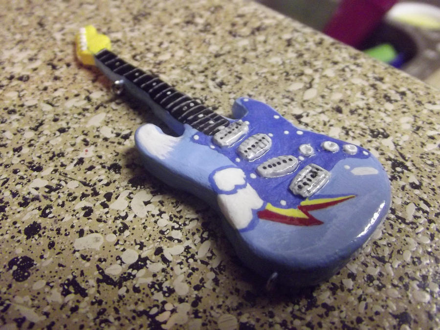 Rainbow Dash Guitar by Eyricat