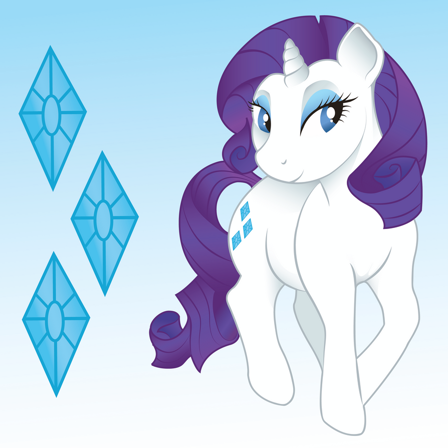 Rarity by PudgySimba