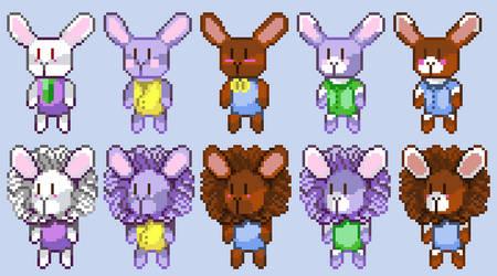 BunPuzzle Bunnies