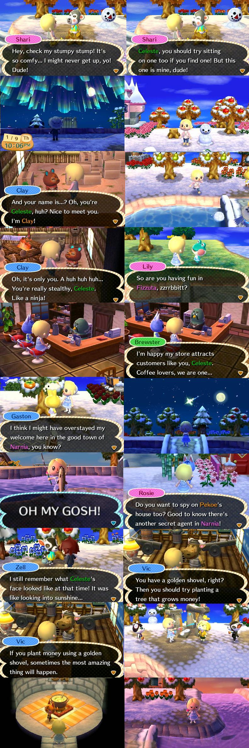 Animal Crossing New Leaf Set 6 By Celestecorinne On Deviantart