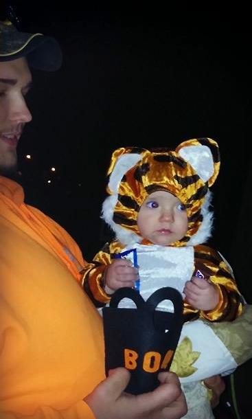 Spencer's First Halloween by CelesteCorinne
