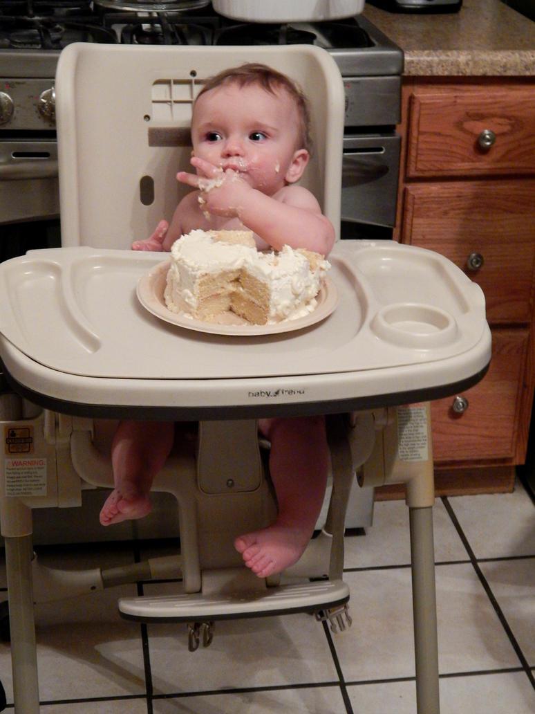 Spencer's First Birthday by CelesteCorinne