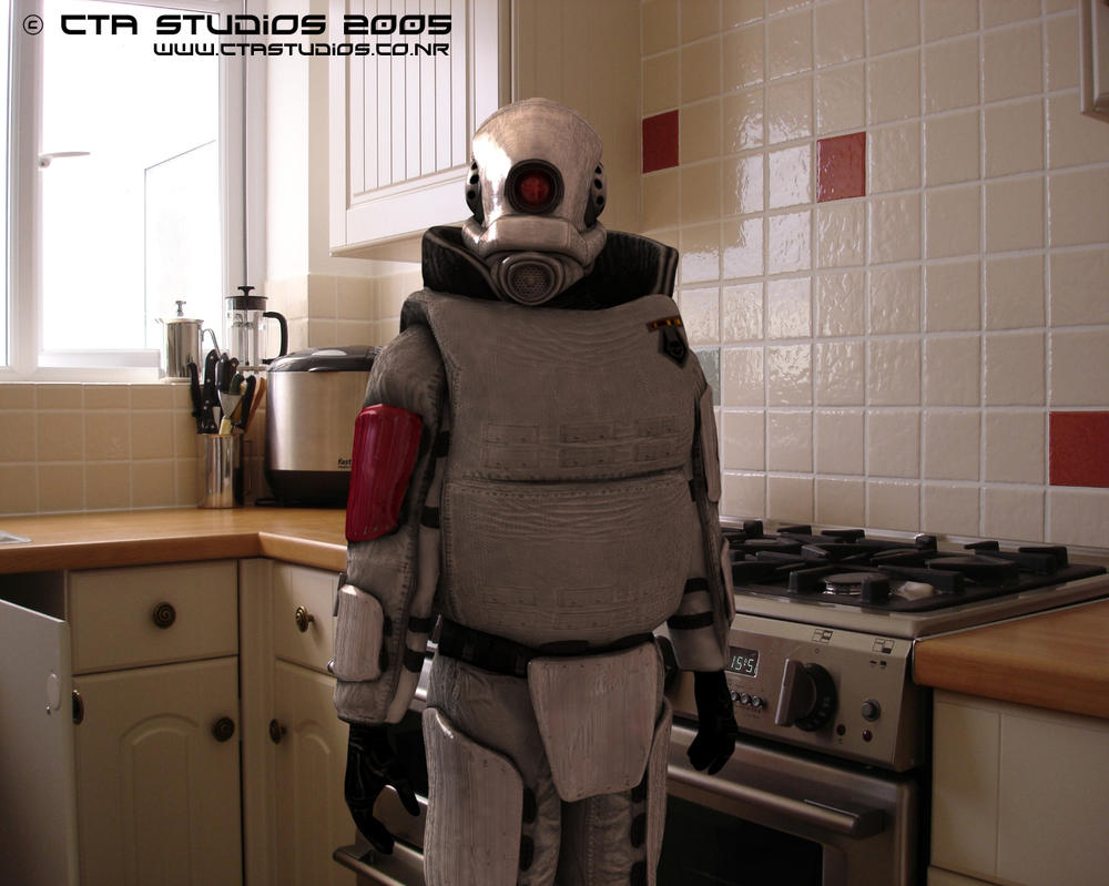 Combine in the kitchen by hex72 on deviantart for The combine kitchen