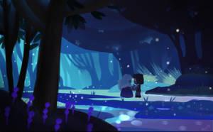 Steven Universe -Ruby y Zafiro by Msmimundo