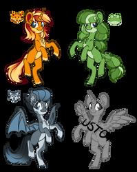 Pony Animal Emojis OPEN 1/3 + Customs