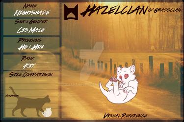 WB | Hazelclan || Nightshade