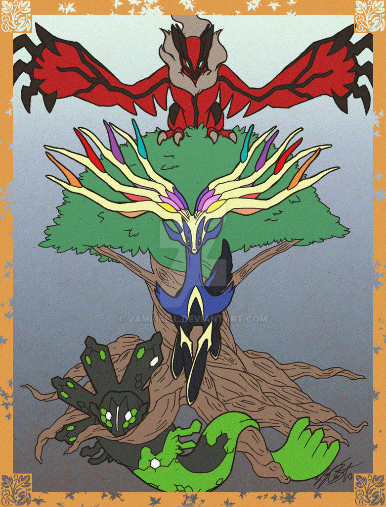 Pokemon Yggdrasil by vampire-L on DeviantArt