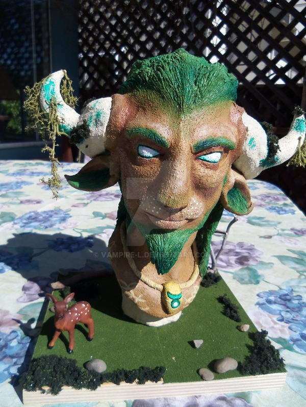 Cernunnos Bust - Completed by vampire-L