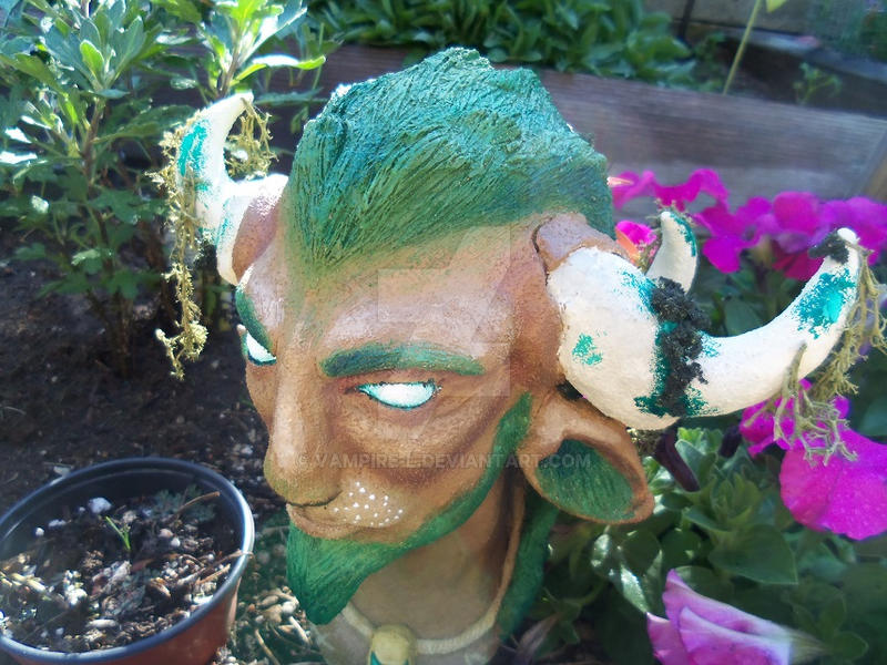 Cernunnos Bust - Completed 3 by vampire-L