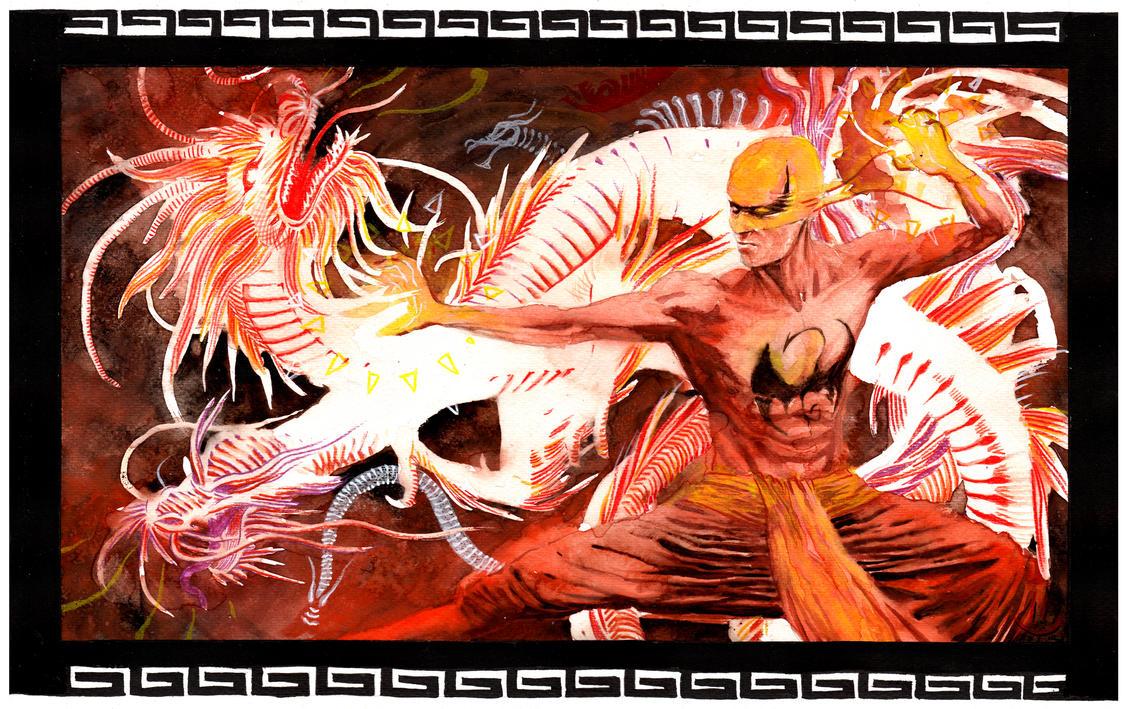 Immortal Iron Fist by xiconhoca