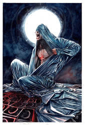 Moon Knight Variant Cover by xiconhoca