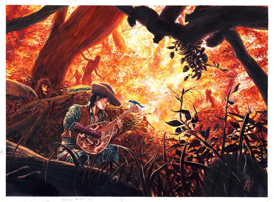 Sh'aente Dandelion by xiconhoca