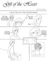 Go Fish Comic Lineart - Page 1 by YamiKaosu