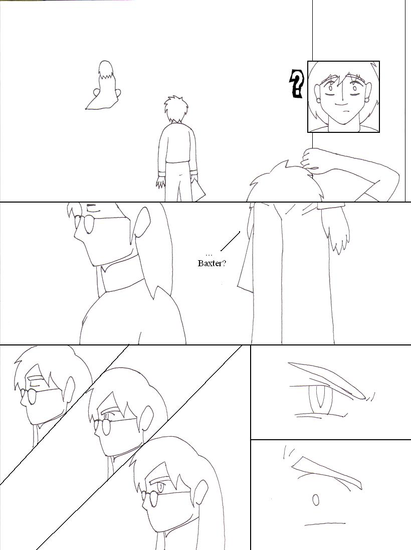 Go Fish Comic Lineart - Page 2 by YamiKaosu