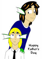 Pet and Devon :: Father's Day by YamiKaosu