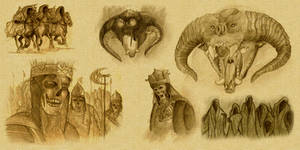 Lord of the Rings Sketches
