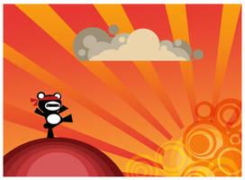 Panda Kung Fu by Beckwee