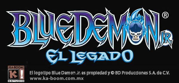 Blue Demon Jr. Logo by Blaster2501