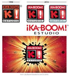 KaBoom new logo 2016 process-by-Blaster2501