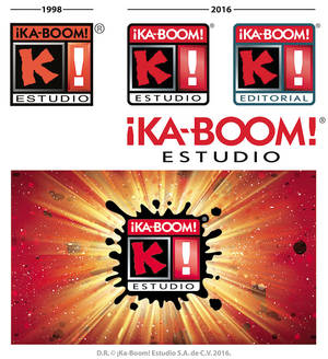 KaBoom new logo 2016 process-by-Blaster2501