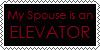 My Spouse Is an Elevator Stamp by DallellesLaul