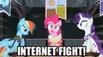 Internet fight 2 by Mezkalito4p
