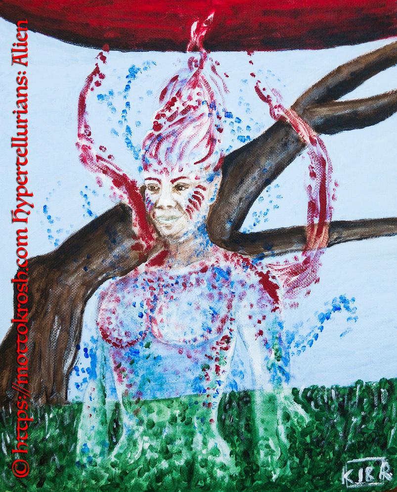 Hypertellurians: Archetype: Alien by SpiritWandererX