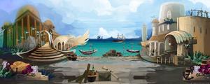 BG City Port by JinkiMania