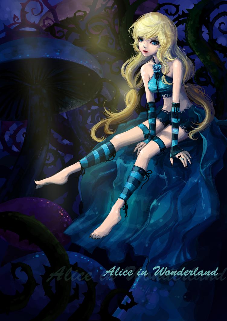 Alice in Wonderland Contest by JinkiMania