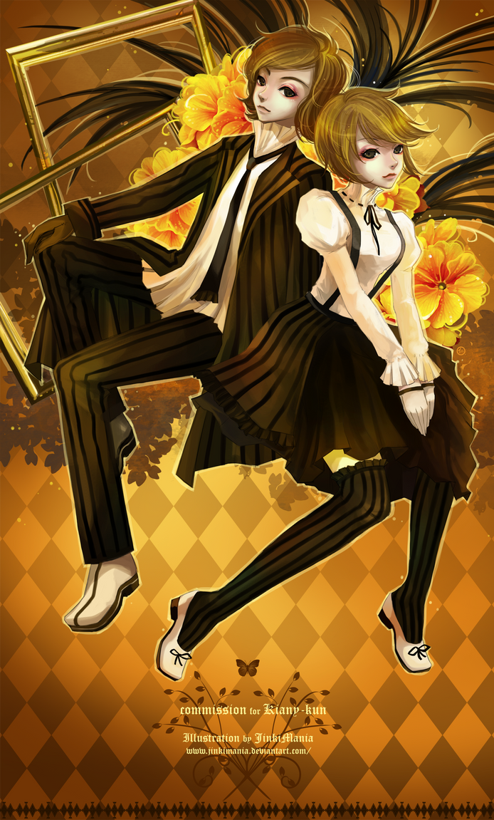 Commission : Kiany-kun by JinkiMania