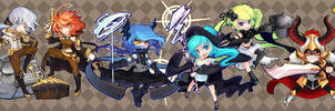 Chibi 'Gang Za' Game Online