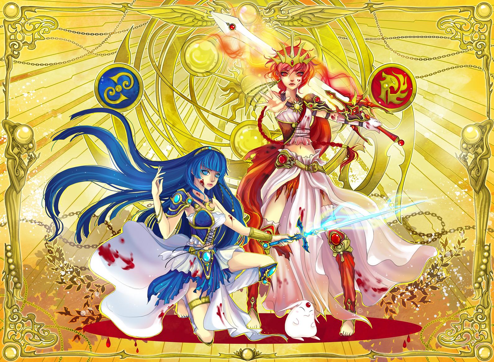 Commission : Magic Knight Rayearth by JinkiMania
