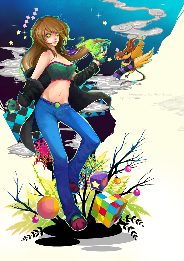 Commission : Grim-Raider by JinkiMania