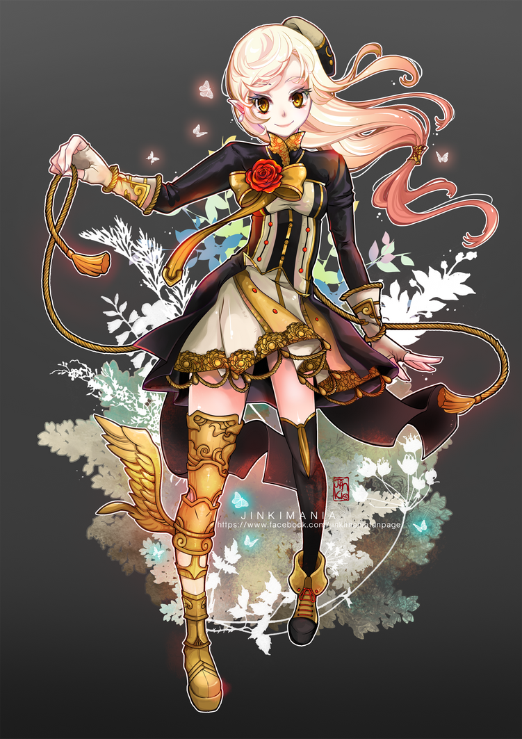 Commission : ShiningCookie by JinkiMania