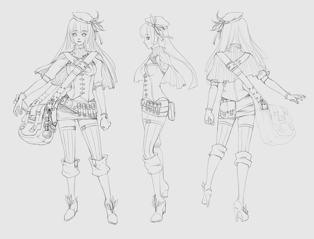 Sketch design by JinkiMania