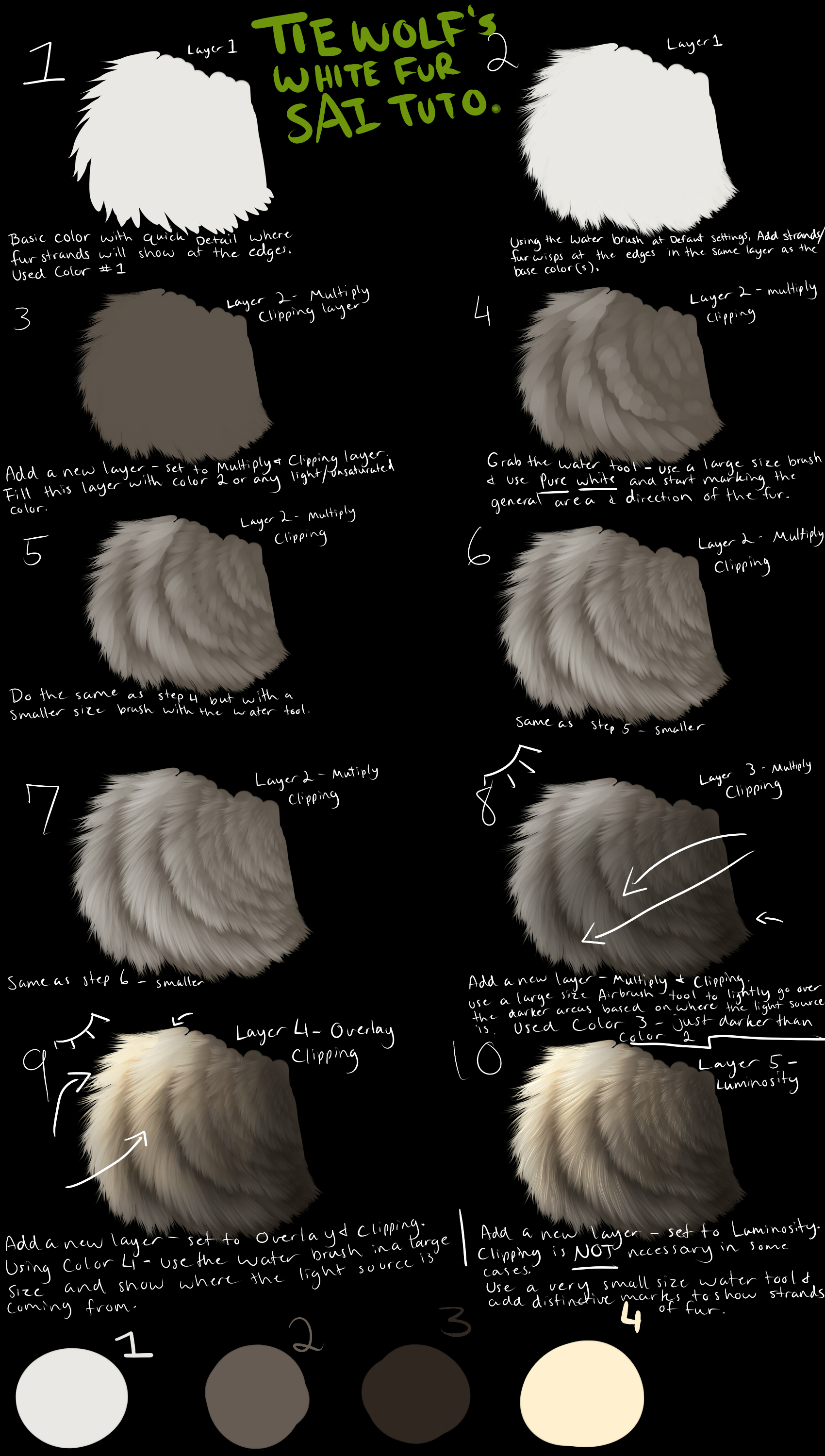 Fur Tutorial by ryky on DeviantArt