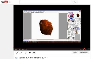 TieWolf's SAI Fur Tutorial 2014 - VIDEO by TieWolf