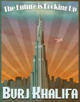 Dubai's Burj Khalifa Art Deco by Xander-son-of-Xereus