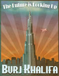 Dubai's Burj Khalifa Art Deco