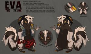[c] eva the skunk ref!