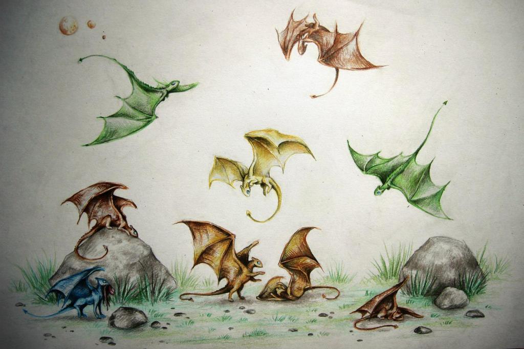 menolly_s_fire_lizards_by_mrgro-d7v4mg4.jpg