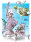 America welcome mr. Christo_covid Corona_lumbus.19 by aladinsaad