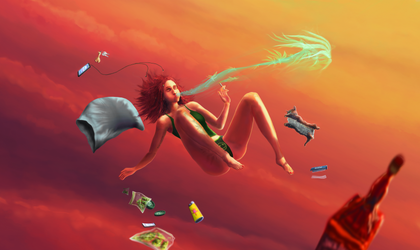 Mary Jane - Wasted on cloud nine by Spoof-Ghost