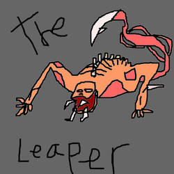 Leaper Necromorph