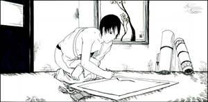 Sai at work by Jitsuchi