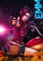 Resident Evil 2 - Claire Redfield by mediamonk